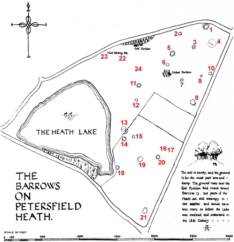 Stuart Piggott's Heath Barrows