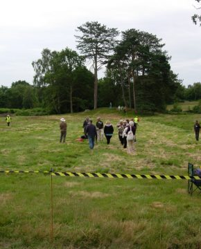 Geophysical survey for autumn excavations available
