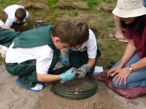 Young excavators